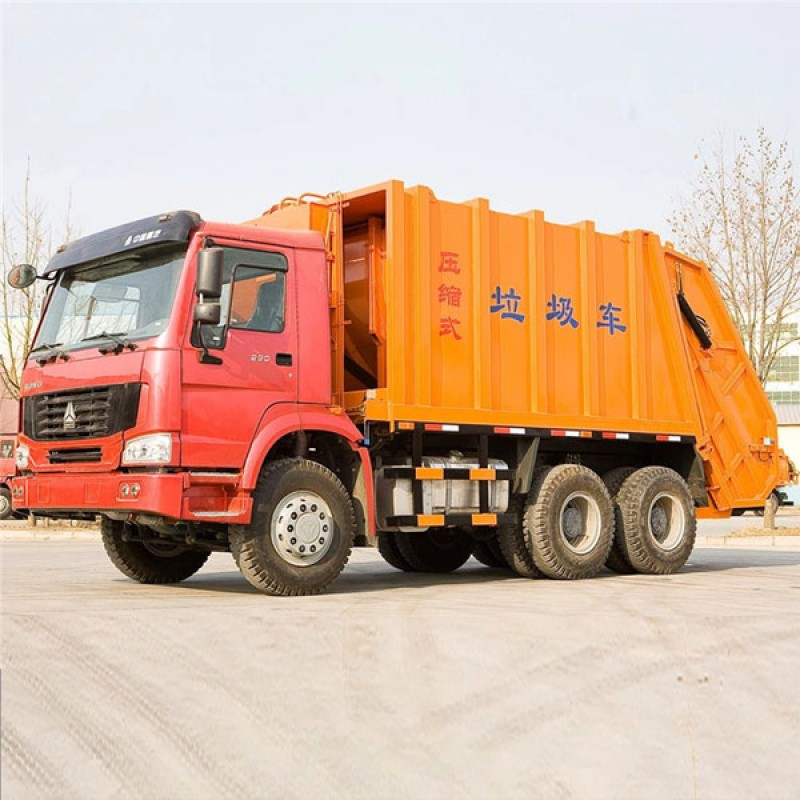 HOWO FOTON 22cbm compactor garbage truck